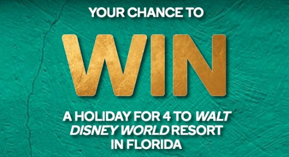 WANT TO VISIT WALT DISNEY WORLD?