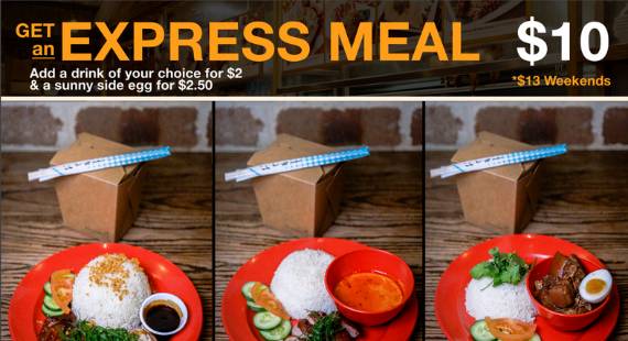 Express Meal Deal $10*