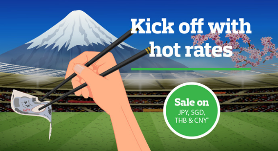 Kick off with hot rates!