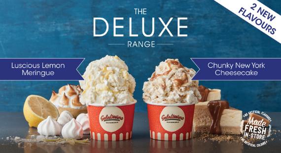 New Deluxe Gelato Flavours
