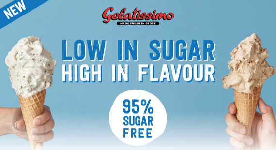 Introducing 95% Sugar Free Flavours