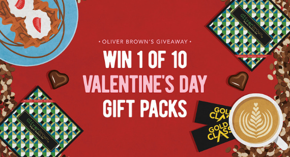 Win 1 of 10 Valentine's Day gift packs
