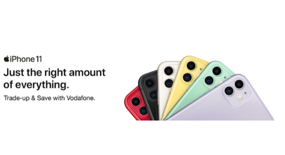 Trade-up & Save With Vodafone