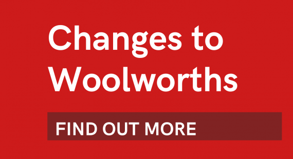 Changes to Woolworths